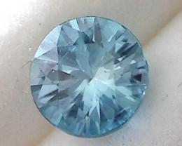 2.5ct Brilliant Cut Soft Blue Zircon, VVS  NA05