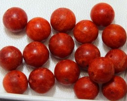 40CTS RED CORAL (PARCEL) 15  NP-1711