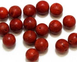 40CTS RED CORAL (PARCEL) 15  NP-1713