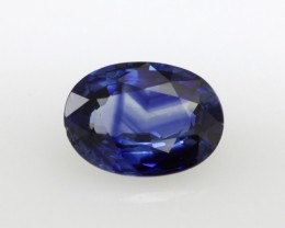 1.63cts Natural Sri Lankan Blue Sapphire Oval Shape