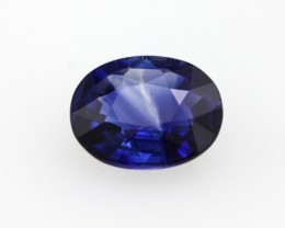 1.59cts Natural Sri Lankan Blue Sapphire Oval Shape