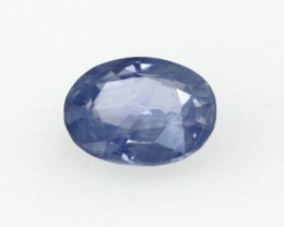 0.98cts Natural Sri Lankan Blue Sapphire Oval Shape