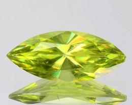 Natural Green Titanite Sphene Marquise Cut Russia Gem
