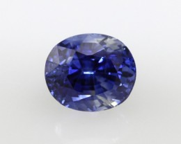 1.97cts Natural Sri Lankan Blue Sapphire Oval Shape