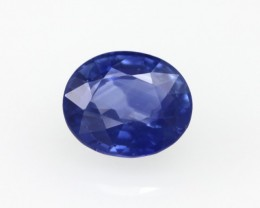 1.16cts Natural Sri Lankan Blue Sapphire Oval Shape
