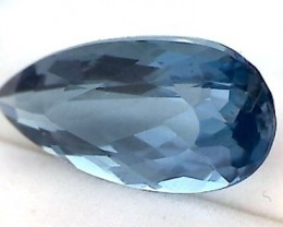 Glamour ! 11.95ct Tear Drop London Blue Topaz VVS NA13