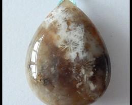 67.85 ct Natural Coral Jade Drop Pendant Bead