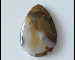 44ct Natural Wyoming Agate Gemstone cabochon