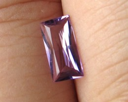 0.45cts Natural Purple Amethyst Baguette Shape