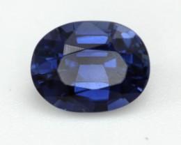 0.68cts Natural Australian Blue Sapphire Oval Cut