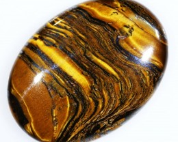 31.5 CTS TIGER EYE   WITH HEMATITE -AUSTRALIA [ST171 ]