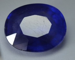 3.30 Cts Natural Blue Sapphire Oval Cut African Gem