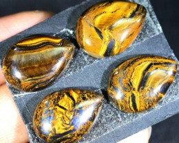43.3 CTS TIGER EYE   WITH HEMATITE -AUSTRALIA [ST180]