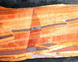 259 CTS TIGER EYE  ROUGH SLAB -AUSTRALIA [F6303 ]
