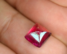 2.81 Cts Natural Sweet Pink Rubelite Tourmaline Sugar Loaf Mozambique Gem
