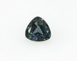 0.41cts Natural Australian Blue Sapphire Trillion Shape