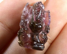 AMETRINE CARVING-INDIAN LORD GANESH 14.95CTS LT-290