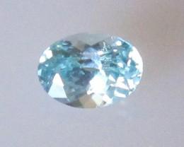 0.47cts Rare Natural Australian Blue Zircon Oval Shape