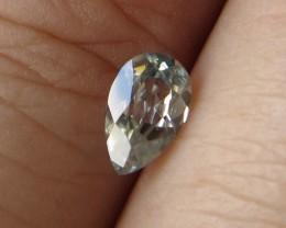 0.59cts Rare Natural Australian Blue Zircon Pear Shape
