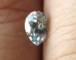 0.49cts Rare Natural Australian Blue Zircon Pear Shape