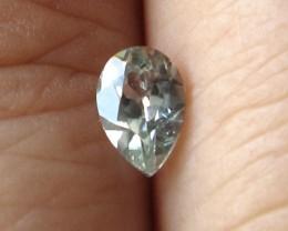 0.52cts Rare Natural Australian Blue Zircon Pear Shape