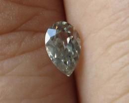 0.36cts Rare Natural Australian Blue Zircon Pear Shape