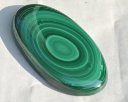 Malachite oval green large 67mm AAA grade