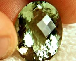 22.28 Carat VVS1 Green Amethyst / Prasiolite - Gorgeous