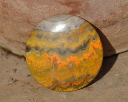 Bumble Bee or Bumblebee Jasper 135ct oval 52mm