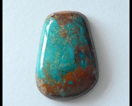 31.5 Ct Natural turquoise Gemstone Cabochon