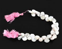 Genuine 168.70 Cts Australian Opal Beads Strand