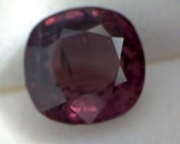 CERTIFIED 3.69ct Firey Pinkish Purple Spinel NA24