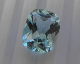 A LOVELY AAA+ JEWELRY GRADE BABY BLUE CUSHION TOPAZ