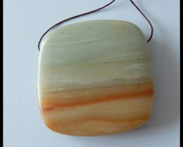 140ct Natural Amazonite Pendant Beads