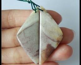 41.25 ct Natural Amazonite Earring Beads(B1804395)