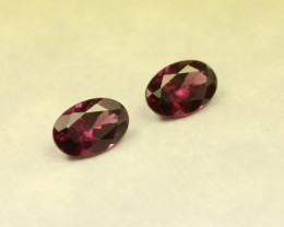 GRAPE GARNET PAIR REAL GRAPE COLOR