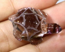 15.30CTS AMETRINE CARVING-TURTLE LT-325