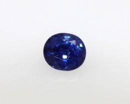 0.46cts Natural Sri Lankan Blue Sapphire Oval Cut