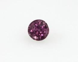 0.32cts Natural Sri Lankan (Ceylonese) Pink Sapphire Round Shape