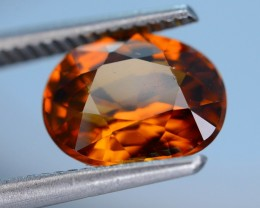 Gil Certified 5.60 ct Untreated Imperial Zircon Cambodia PRJ.2
