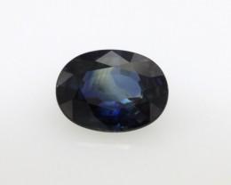 1.56cts Natural Australian Blue Sapphire Oval Cut