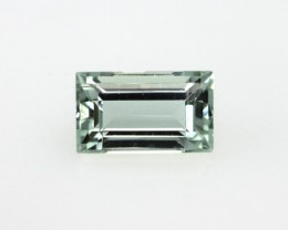0.90cts Natural Aquamarine Baguette Cut