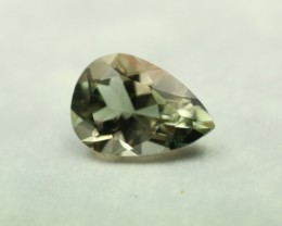 SUNSTONE BLUISH GREEN PEAR SHAPE