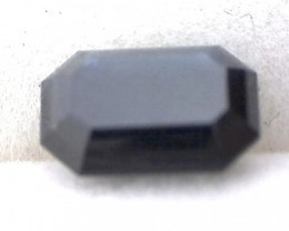 1.30ct Modified Emerald Cut Deep Blue Sapphire, VVS, Australia. EP01