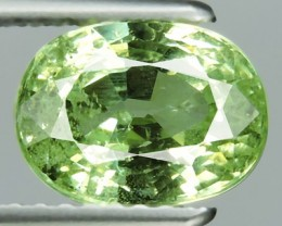 CERTIFIED'2.50 CTS DAZZLING RARE NATURAL EARTH MINED MINT GREEN TSAVORITE N