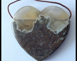 67 ct Natural Agate Gemstone Pendant Bead