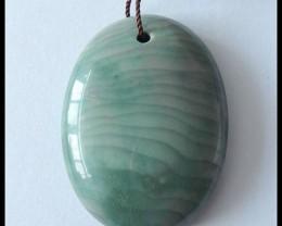 76.5 ct Natural Wave Jasper Pendant Bead