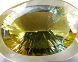 FREE SHIP CERTIFIED NATURAL QUARTZ (CITRINE) 32.76 CT SG215