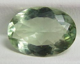 5.90 CTW PRASIOLITE - GREEN AMETHYST AUTHENTIC GEMSTONE, NATURAL