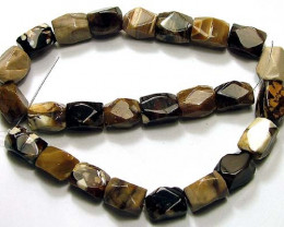 510 CTS PETRIFIED WOOD BEADS  NP-801
